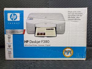 HP Deskjet F380 All-in-One Printer Scanner Copier for Sale in Hockley, TX