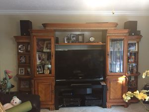 El Dorado wall unit with TV stand for Sale in Hollywood, FL