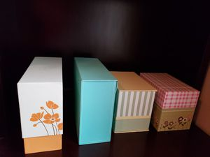 4 greeting card boxes filled with cards for Sale in CORONA DE TUC, AZ