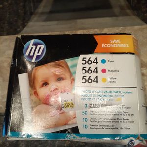 Hp 564 Ink Cartridges & Card Value Pack for Sale in Irvine, CA