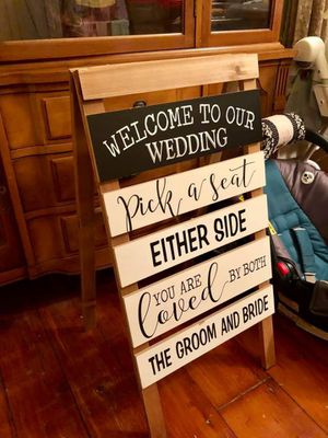 Wedding Welcome Sign for Sale in Medford, NJ