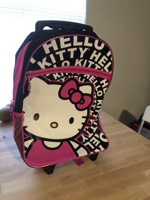 Hello kitty roller backpack for Sale in Austin, TX