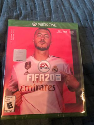 Fifa 20 for Xbox One brand new sealed 40$$ sealdo nuevo for Sale in Chula Vista, CA