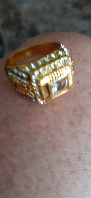 Mens gold ring size 11 for Sale in Greeneville, TN