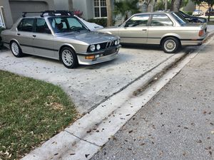 1985 Bmw 5 series Hartge for Sale in Clermont, FL
