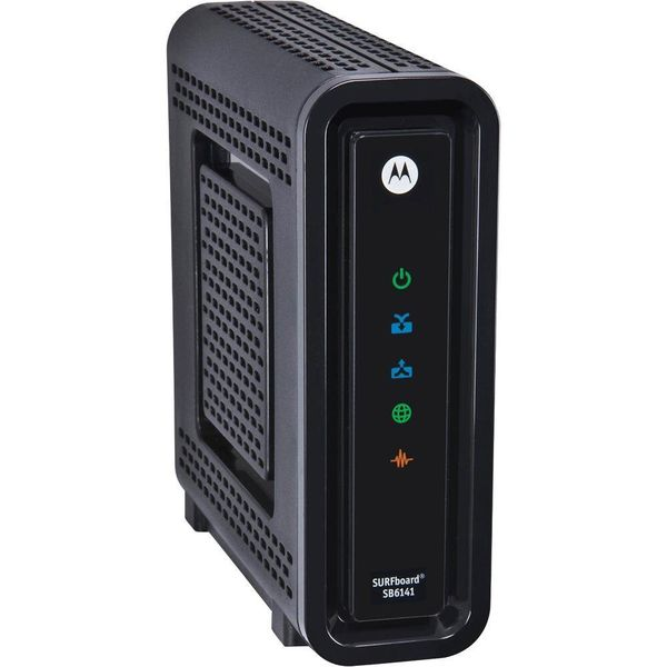 Motorola SURFboard SB6141 DOCSIS 3.0 High-Speed Cable Modem- BLACK