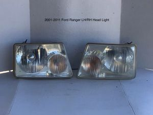 2001-2011 Ford Ranger Driver and Passenger Head Lights for Sale in Jurupa Valley, CA