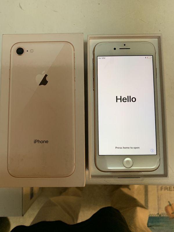 Apple iPhone 8 Gold 256GB Smartphone