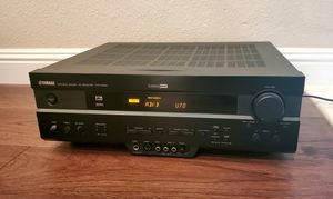 Yamaha HTR-5450 7.1 Home Audio Surround Sound Receiver NO REMOTE for Sale in Antioch, CA