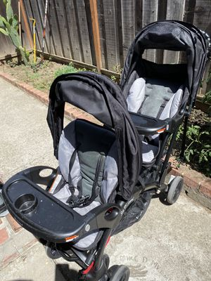Baby trend sit-n-stand double stroller for Sale in San Jose, CA