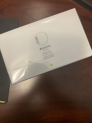 Apple Watch 3 - Stainless Steel - 42mm - Milanese Loop - GPS/Cellular for Sale in Fairfax, VA