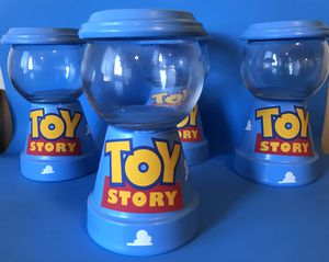 Toy story centerpieces gumball candy machine for Sale in Maywood, CA