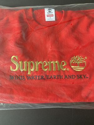Red Supreme x Timbaland Collab Crewkneck for Sale in Houston, TX