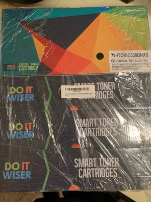 Do it yourself smart toner cartridges 4- pack factory sealed for Sale in Los Angeles, CA