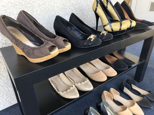 HEELS PUMPS WEDGES DRESSY STILETTOS POINTY TOE FLATS Women Shoes for sale $5-$15 for Sale in Upland, CA