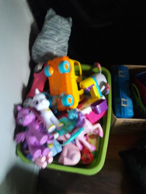 A box of toys for Sale in Auburndale, FL