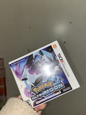 Nintendo 3DS Pokémon Ultra Moon for Sale in Queens, NY