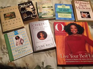 Various books for Sale in Apex, NC