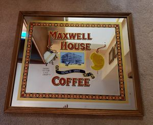Vintage Maxwell House Coffee Mirror for Sale in Manchester, MO