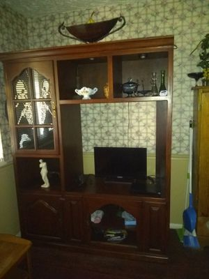Nice entertainment center for Sale in Tulsa, OK