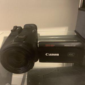cannon vixia hf g50 for Sale in Seattle, WA