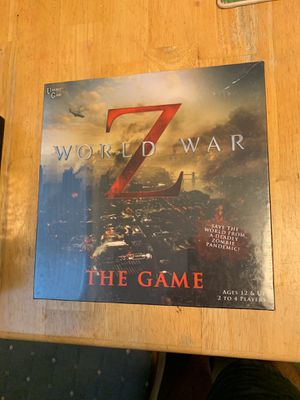 World War Z Board Game - Zombies, Pandemic, 12+ for Sale in Austin, TX
