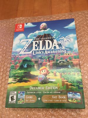 Legend of Zelda Link's Awakening Dreamer Edition for Nintendo Switch for Sale in Atlanta, GA