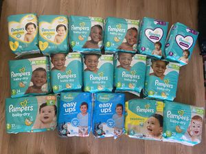 Pampers diapers $6 each bag for Sale in Los Angeles, CA