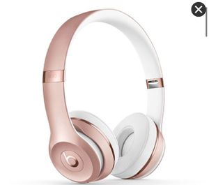 beats solo 3 wireless rose gold for Sale in Lutz, FL