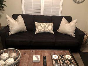 Dark gray sofa sleeper $400 for Sale in Temecula, CA