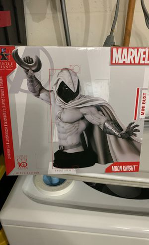 Moon Knight Gentle Giant bust 429/600. New in box, never displayed. for Sale in Wimauma, FL
