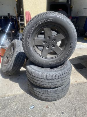 2010 Jeep Wrangler wheels for Sale in Fort Lauderdale, FL