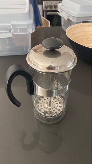 Crate and barrel French press for Sale in Phoenix, AZ