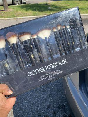 Sonia Kashuk Makeup Brush Set (10) for Sale in St. Petersburg, FL