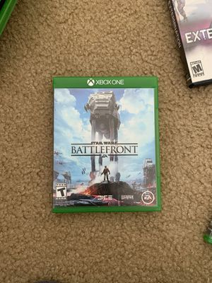 Star Wars battle front Xbox 1 for Sale in Gilroy, CA