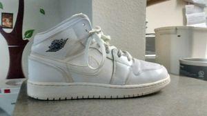 Air Jordan 1'Triple White' Sneakers - Size 5.5Y for Sale in FL, US