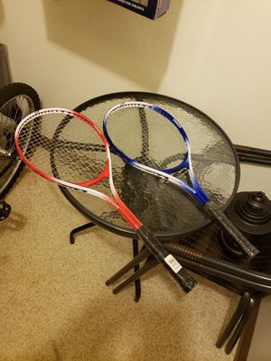 FOR SALE THREE TENNIS RACKETS for Sale in Warren, OH