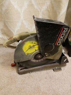 Metal cutter chop saw for Sale in Fairfax, VA