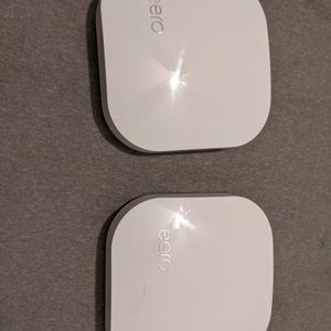 2 Eero Pro 2nd Gen Mesh WiFi Routers for Sale in Los Angeles, CA