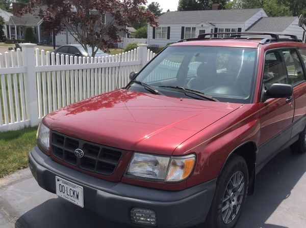 1998 Subaru Forester L ALL WHEEL DRIVE