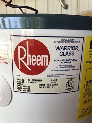 Free Rheem 56 Gallon water heater for Sale in East Wenatchee, WA