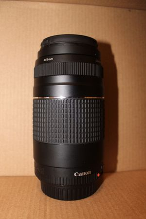 Canon 75-300mm lens for Sale in Canal Winchester, OH