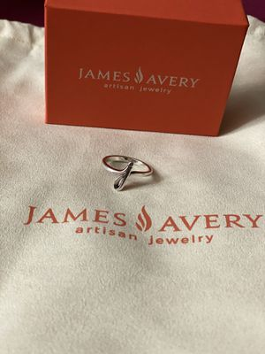 James Avery J ring size 7 for Sale in Spring, TX
