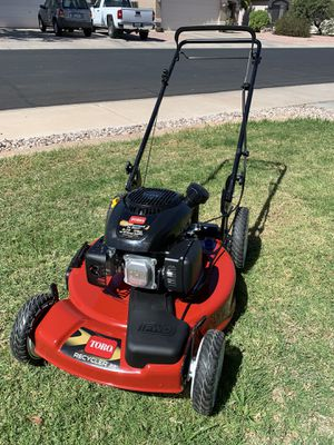 Toro high wheel self propelled lawn mower for Sale in Surprise, AZ