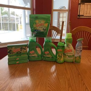 Gain Laundry Products Bundle! for Sale in New Port Richey, FL