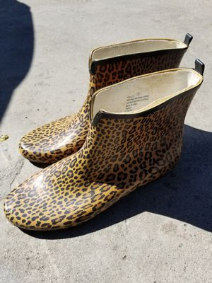 Leopard Rain boots for Sale in Los Angeles, CA