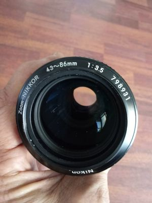 Nikkor 43-86mm f1:3.5 Zoom Ai-S mount CLEAN! for Sale in Chino, CA