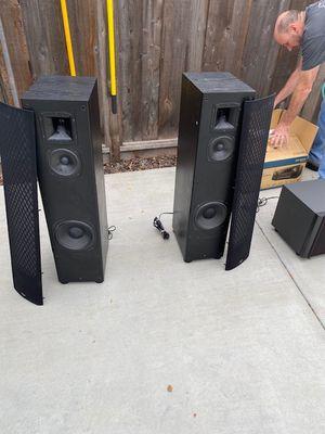 Complete Surround Sound, Premium Brand Stereo System. for Sale in Novato, CA