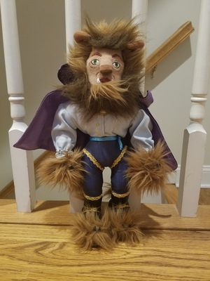 Beast Doll from the Broadway show of Beauty and the Beast for Sale in New York, NY
