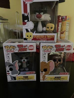 Funko pop bundle tweety and Sylvester and Tom & jerry for Sale in Bridgeton, NJ